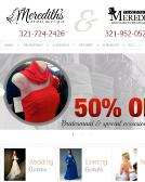 Meredith%27s+Bridal+%26+Formal Website