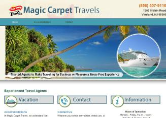 Magic+Carpet+Travels Website
