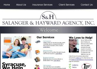 Salanger+%26+Hayward+Agency+Inc Website