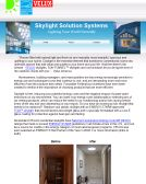 Skylight Solutions Systems