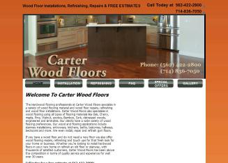 Carter+Wood+Floors Website