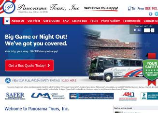 Panorama+Tours+Inc Website