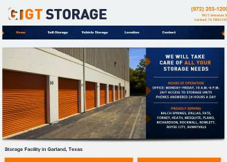 G+T+Storage Website