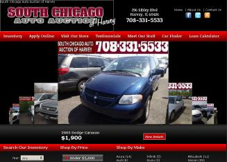 S+Chicago+Auto+Auction+of+Harvey Website