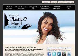 Bangor+Plastic+%26+Hand+Surgery Website