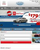 Lakeside+Toyota+Scion Website