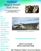 Flathead Spay & Neuter Task