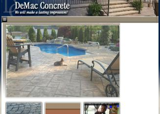 DeMac+Concrete+Inc Website