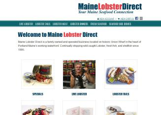 Maine+Lobster+Direct Website