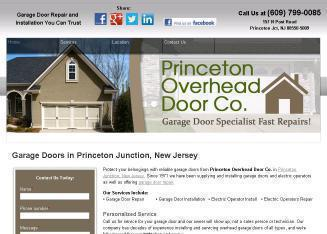 Princeton+Overhead+Door+Co Website