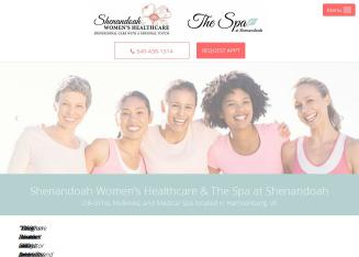 Shenandoah+Women%27s+Healthcare Website