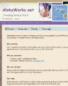 Alohaworks.net Website