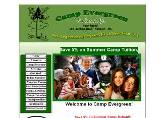 Camp+Evergreen+Day+Camp Website