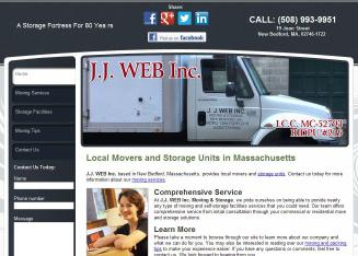 JJ Web Inc. Moving & Storage