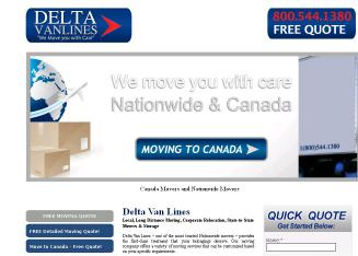 Delta Van Lines Inc. - Save Up To 65%