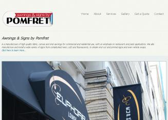 Awnings by Pomfret