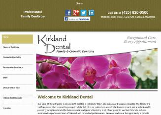 Kirkland+Dental Website