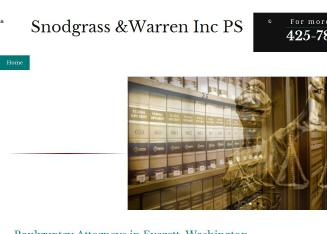 *Snodgrass & Warren Inc PS