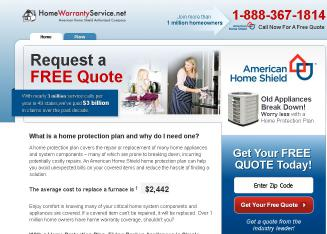 American+Home+Shield+-+Home+Range+%26+Oven+Warranty Website