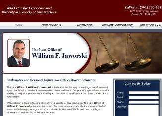 The+Law+Office+of+William+F+Jaworski Website