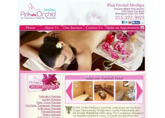 Pink+Orchid+SPA Website
