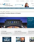 La-Z-Boy+Furniture+Galleries Website