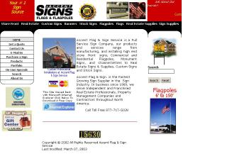 Accent+Flag+%26+Sign+Service Website