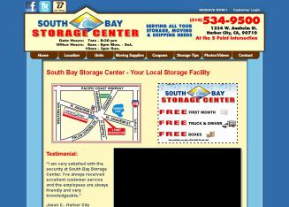 South+Bay+Storage+Center Website