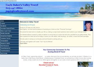 Gayle+Baker%27s+Valley+Travel Website