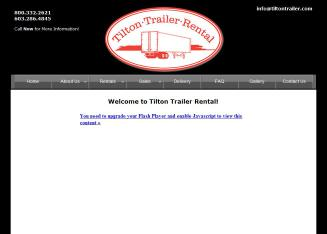 Tilton+Trailer+Rental+Corp. Website