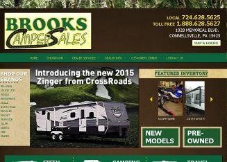 Brooks+Camper+Sales Website