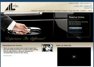 Arrow+Limousine Website
