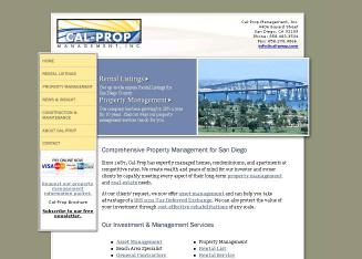 Cal-Prop+Property+Managment Website