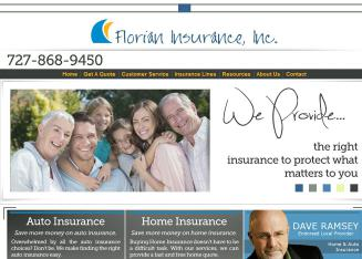 Florian+Insurance+INC Website