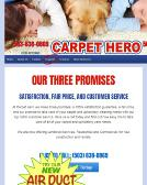 Carpet+Hero Website