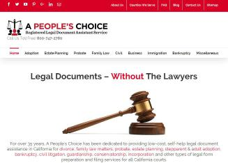 A+People%27s+Choice+l+Legal+Documents+l+Bankruptcy+l+Divorce++l+Probate+Ventura Website