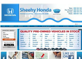 Sheehy+Honda Website