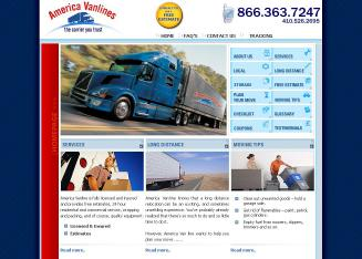 America+Van+Line+Inc+LLC Website