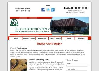 English+Creek+Supply Website