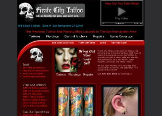 Pirate+City+Tattoo Website