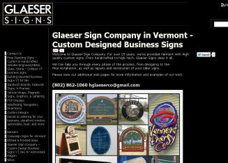 H.+Glaeser+%26+Co. Website