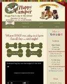 Happy+Camper+Doggy+Daycamp Website