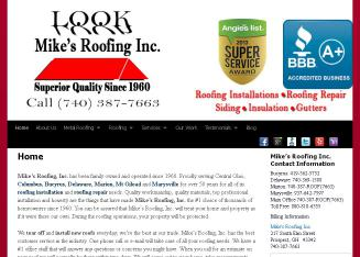 Mike%27s+Roofing+Inc Website
