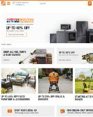 The+Home+Depot Website