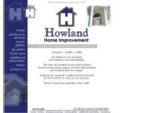 Howland+Home+Improvement Website
