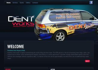 Dent+Works+Paintless+Dent+Removal Website