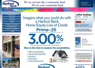 Harford+Bank Website