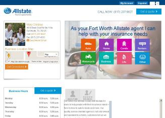 Allstate+Insurance+Company+-+Jason+Childree Website