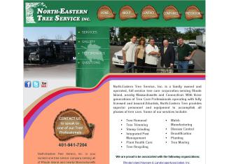 North+Eastern+Tree+Service Website