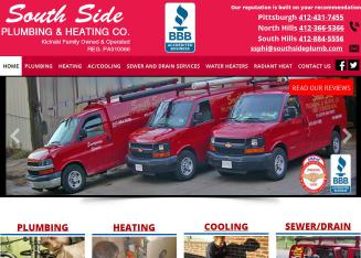 South+Side+Plumbing+%26+Heating+Co. Website